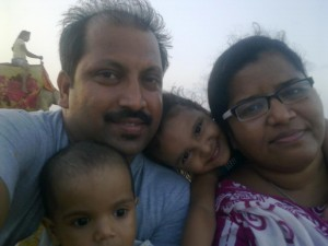 Sudipta and his family