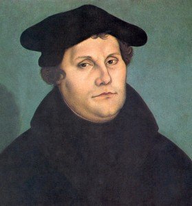 Martin Luther (by Lucas Cranach, 1533)