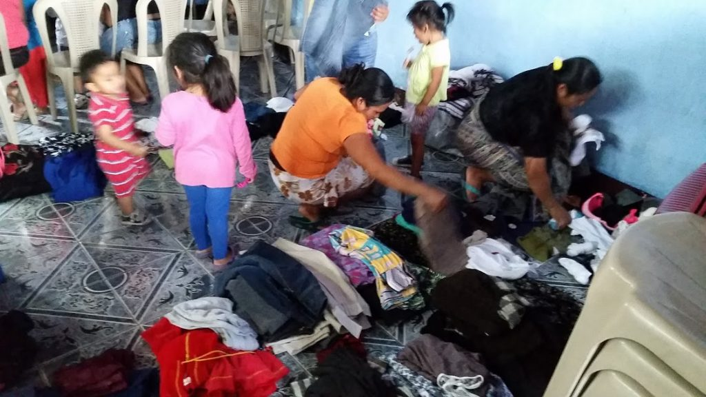 the clothing giveaway